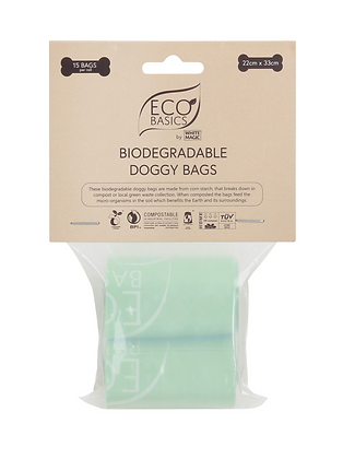 Eco Basics Biodegradalbe Doggy Bags 2 x 15 Bags