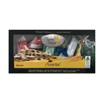 Flying Swan Almond Nougat - Gift Box Assorted 200gm