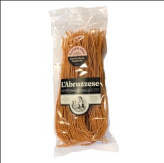 L'Abruzzese Organic Lentil & Maize Spaghetti (GF) 375gm