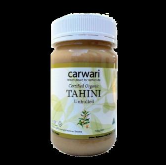 Carwari Organic Tahini Unhulled 375gm
