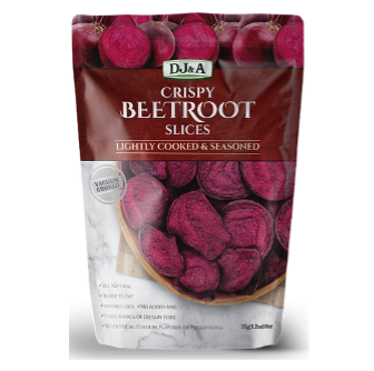DJ & A Products Beetroot Chips 35gm