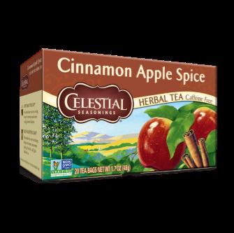 Celestial Seasonings Cinnamon Apple Spiced Tea 20 Bag