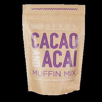 Bake Mixes Cacao & Acai Muffin Mix 250gm