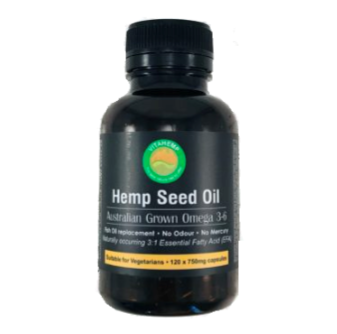 VitaHemp Hemp Seed Oil 120 Caps