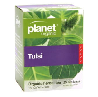 Planet Organic, Organic Tulsi Tea 25 Bag
