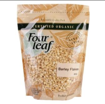 Four Leaf Milling Organic Barley Flakes 800gm