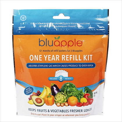 BluApple Classic 1 Year Refill Kit