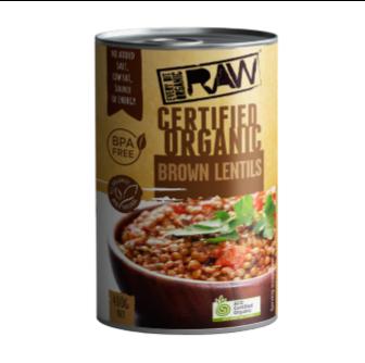 EBO Organic Brown Lentils 400gm