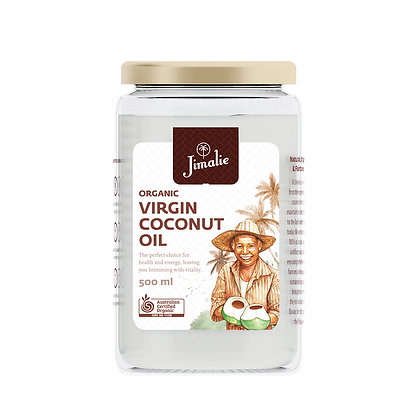 Jimalie Organic Centrifuge Virgin Coconut Oil 500ml