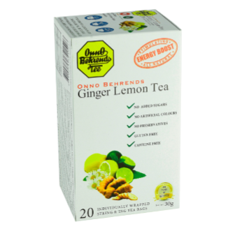 Onno Behrends Ginger Lemon Tea 20 Bag