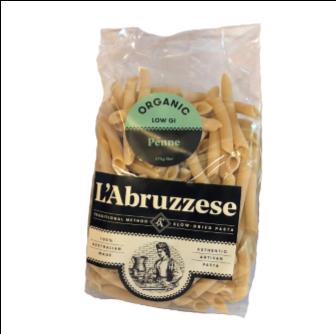 L'Abruzzese Organic Penne 375gm