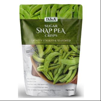 DJ & A Products Sugar Snap Peas 30gm