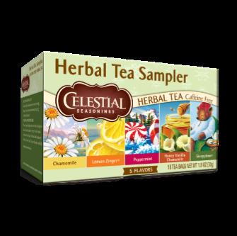 Celestial Seasonings Herb Tea Sampler 18 Bag