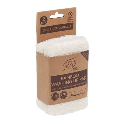 Eco Basics Bamboo Washing Up Pad 2 Pack