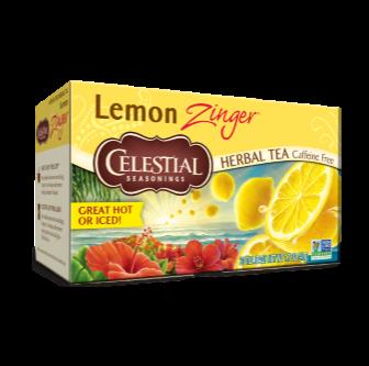 Celestial Seasonings Lemon Zinger Tea 20 Bag
