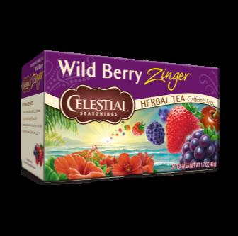 Celestial Seasonings Wild Berry Zinger Tea 20 Bag