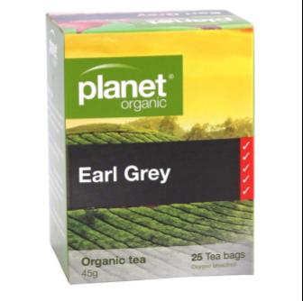 Planet Organic, Organic Earl Grey Tea 25 Bag