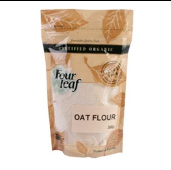 Four Leaf Milling Organic Oat Flour 300gm