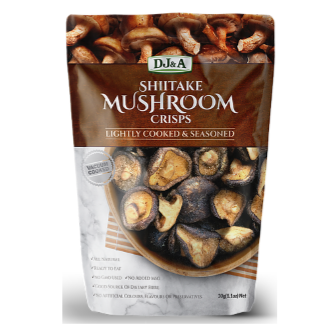 DJ & A Products Shiitake Mushroom Chips 30gm
