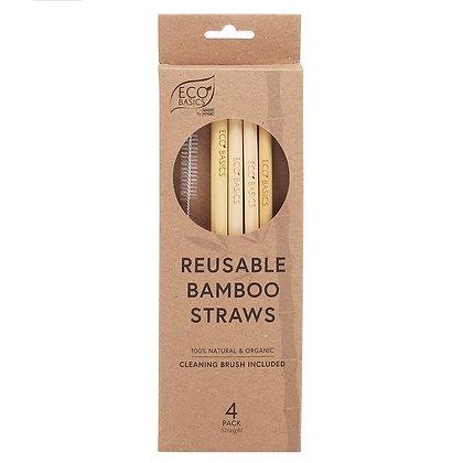 Eco Basics Re-Useable Bamboo Straws