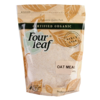 Four Leaf Milling Organic Oat Meal 800gm