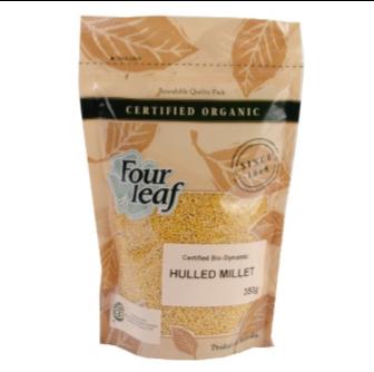 Four Leaf Milling Bio Hulled Millet 350gm