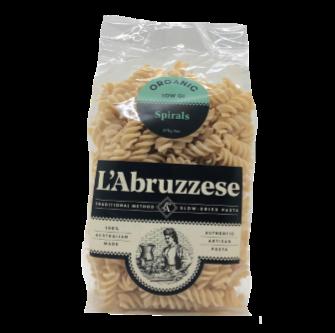 L'Abruzzese Organic Spirals 375gm