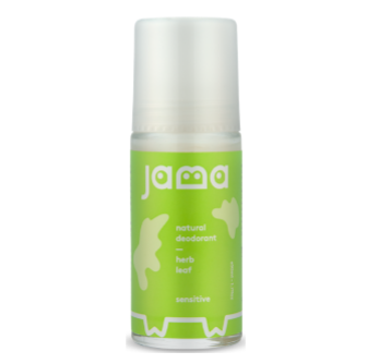 Jama Sensative Natural Deodorant Herb Leaf 50ml