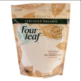 Four Leaf Milling Organic Wholemeal Self Raising Flour 1kg