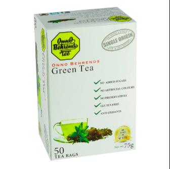 Onno Behrends Natural Green Tea 50 Bag