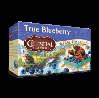 Celestial Seasonings True Blueberry Tea 20 Bag