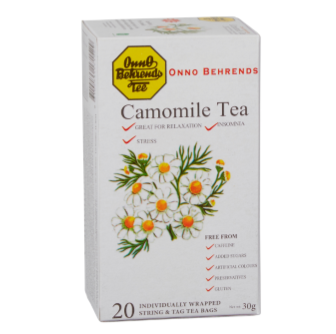 Onno Behrends Camomile Tea 20 Bag