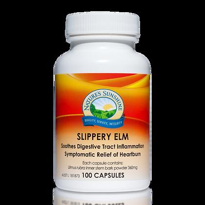 Nature's Sunshine Slippery Elm 360mg 100 Cap