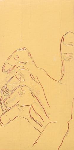 Distorted hand 1