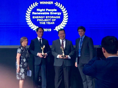 RPRE wins Energy Storage Project of the Year