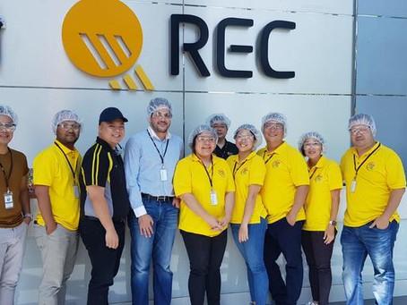 REC factory tour