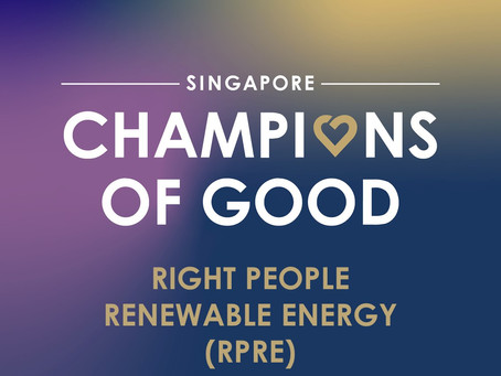 We are honoured to be recognised as a Champion of Good 2020!