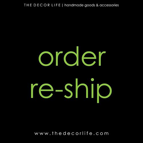 Re-Ship Fee