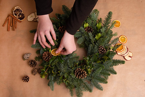 DIY Christmas Wreath Making Kit