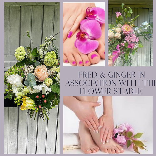 Mother's Day Flowers and Spa Box