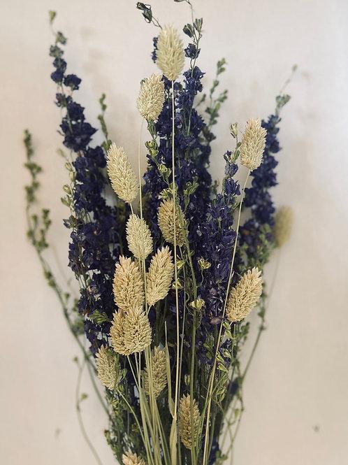 Dried Delphinium Bouquet