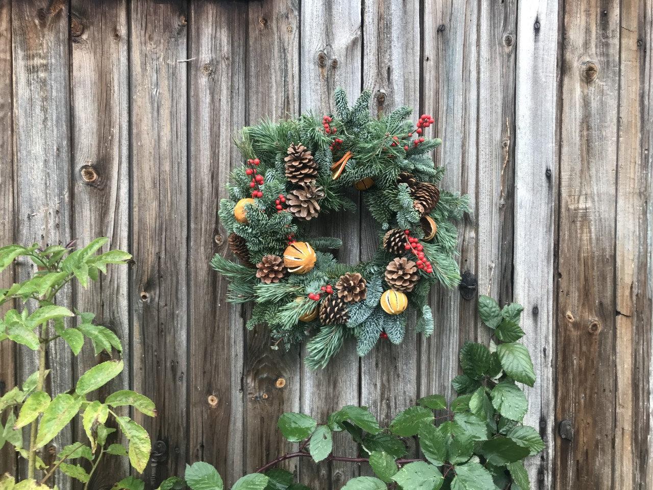 Christmas Wreath Making at The Mixer