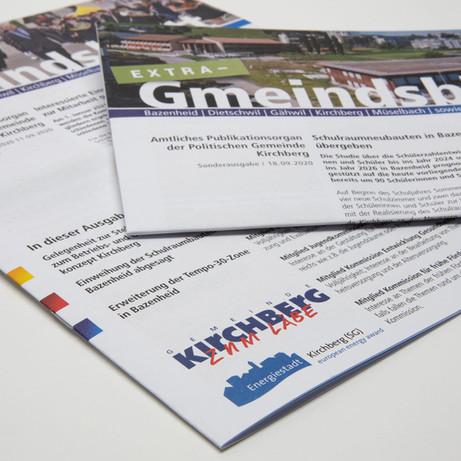 Gmeindsblatt Kirchberg