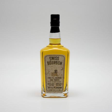 Selbstklebe-Etikette Swiss Bourbon