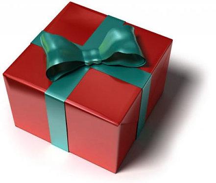 Certificat cadeaux pour Noel (une heure trente)