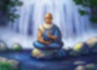 sage bleu assis au dessus de l'eau.jpg