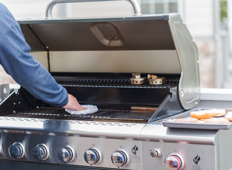 Gas Grill Spring Cleaning