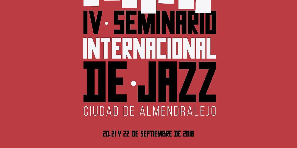 IV Seminario Internacional de Jazz