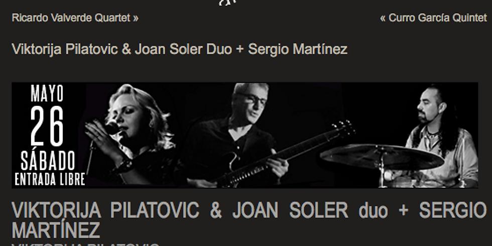 Viktorija Pilatovic - Joan Soler - Sergio Martinez