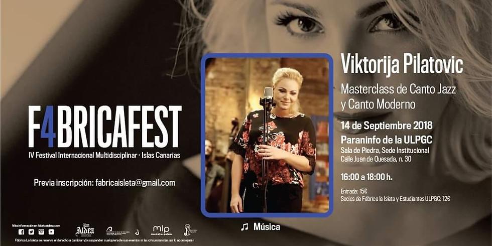 Masterclass Fabrica Fest 2018 Islas Canarias